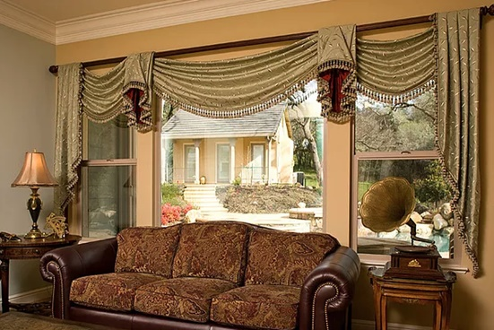 Custom Draperies in El Dorado Hills, CA